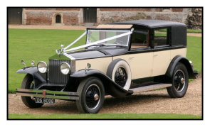 Rolls Royce Phantom 1 - Vintage wedding car available in Huntingdon